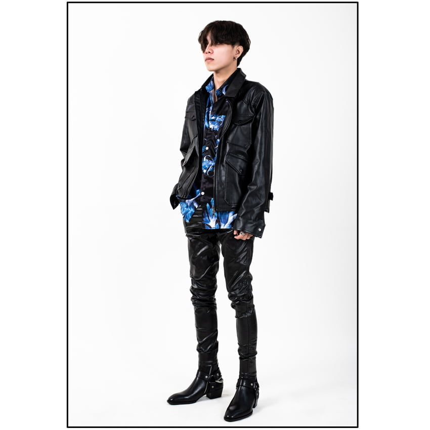Chain x Harness Boots In Black Chain x Harness Boots In Black SS2020 1