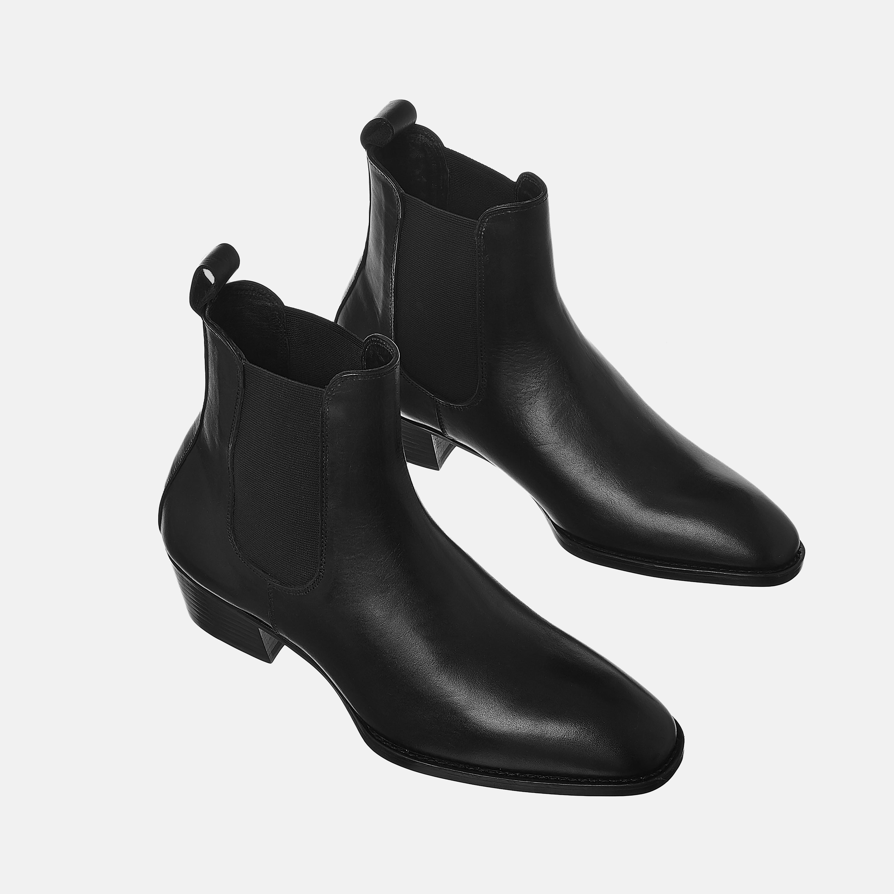 Leather Chelsea Boots In Black Leather Chelsea Boots In Black SS2020 Product thumbnail 1