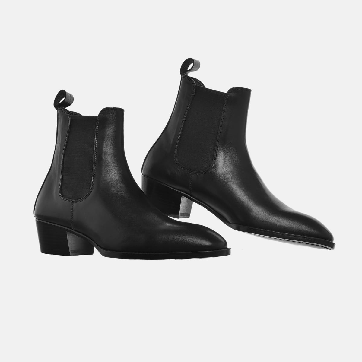 Leather Chelsea Boots In Black Leather Chelsea Boots In Black SS2020 2